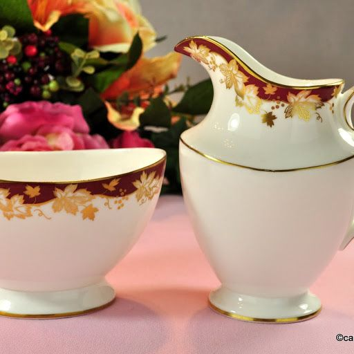 Royal Doulton Winthrop H.4969 Fine Bone China Milk Jug & Sugar Bowl