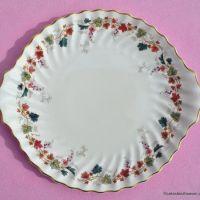 Royal Doulton Canterbury Vintage Cake Plate c.1960s