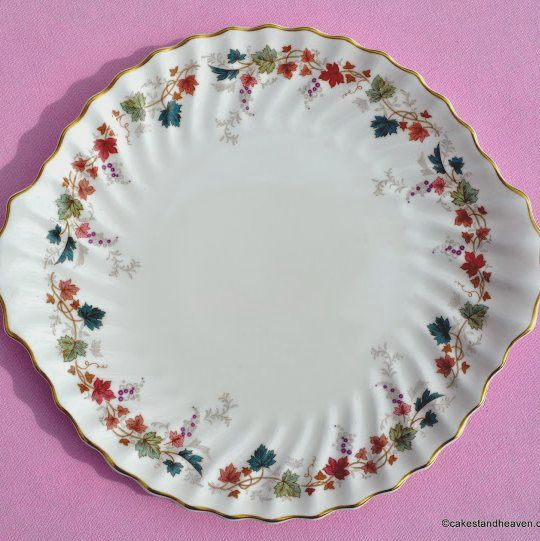 Royal Doulton Canterbury Vintage China Cake Plate