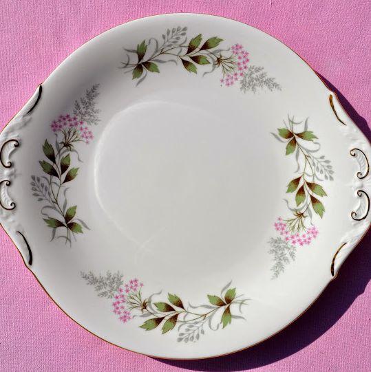 Paragon Glendale Vintage Bone China Cake Plate c.1957+