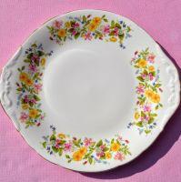 Colclough Hedgerow Cake Plate c.1960's