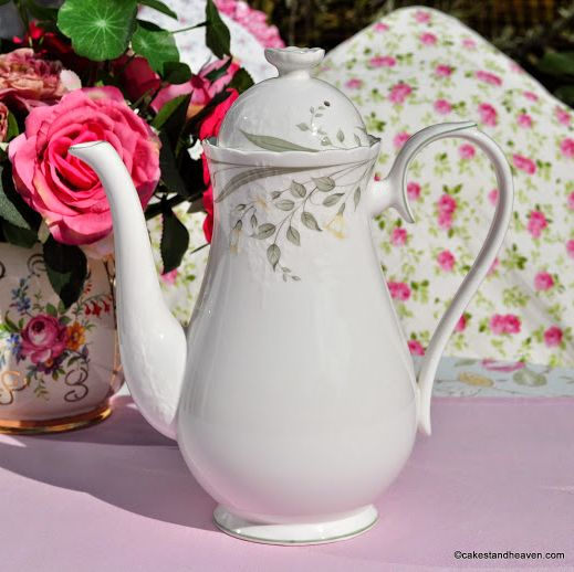 Royal Albert Hazy Dawn Coffee Pot or Tall Teapot