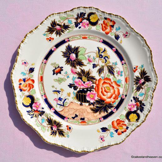 Antique Mason's Mandarin 27cm Imari Style Plate c.1890s