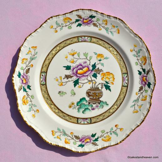Mason's Chinese Peony 27cm Decorative Plate c.1919