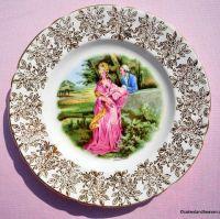 Regency Style My Lady Vintage China 20cm Plate