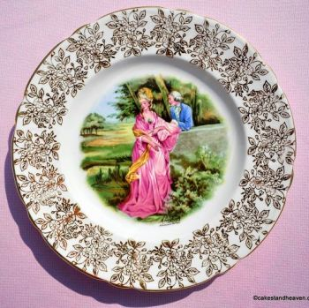 Regency Style My Lady Vintage China 20cm Plate