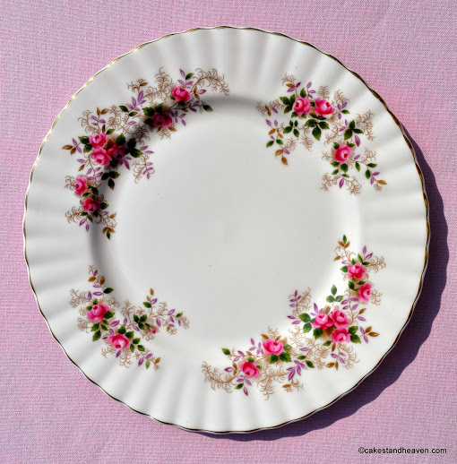 Royal Albert Lavender Rose First Edition 21cm Plate c.1962+