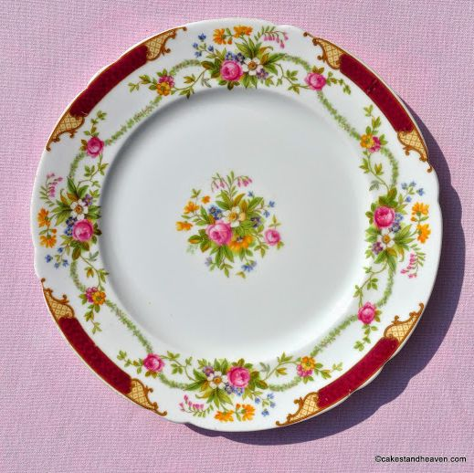 Shelley Dubarry 13395 Vintage Fine Bone China 20.5cm Plate c.1930s