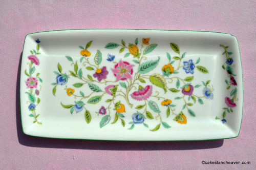 Minton Haddon Hall Bone China Sandwich or Biscuit Tray