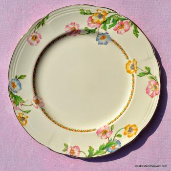Alfred Meakin Elstree Pattern 22.5cm Plate (Royal Marigold Series) c.1937+