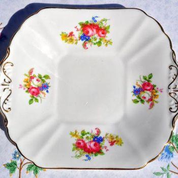 Radfords Floral Sprays Cake Plate c.1938-57