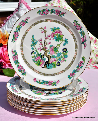 Regency Indian Tree Vintage Bone China 25cm Plate