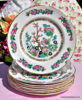 Regency Indian Tree Vintage Bone China 20cm Plate