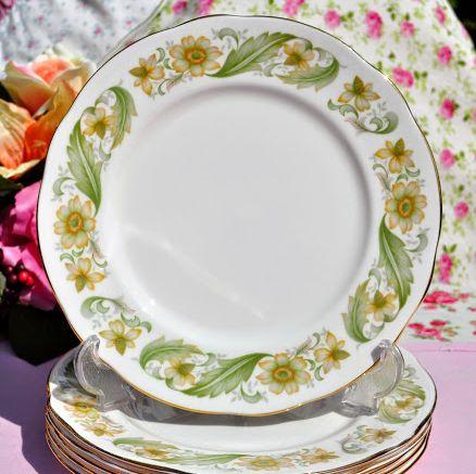 Duchess Greensleeves Vintage Bone China 21cm Salad Plate - Stock 6