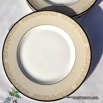 Royal Doulton Abbey Hall 20cm Plates x 6