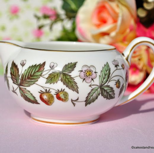 Wedgwood Strawberry Hill Bone China Creamer c.1960s