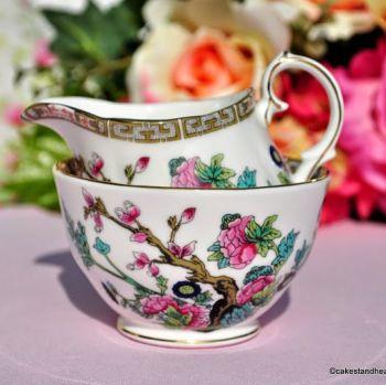 Duchess Indian Tree Small Milk Jug & Sugar Bowl