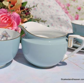 Royal Worcester Woodland Milk Jug and Sugar Bowl Set