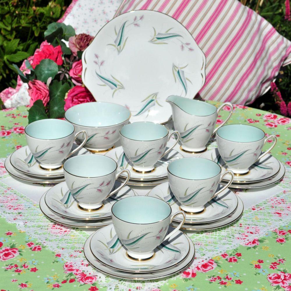 Royal Standard Enchantment Vintage English 21 Piece Tea Set