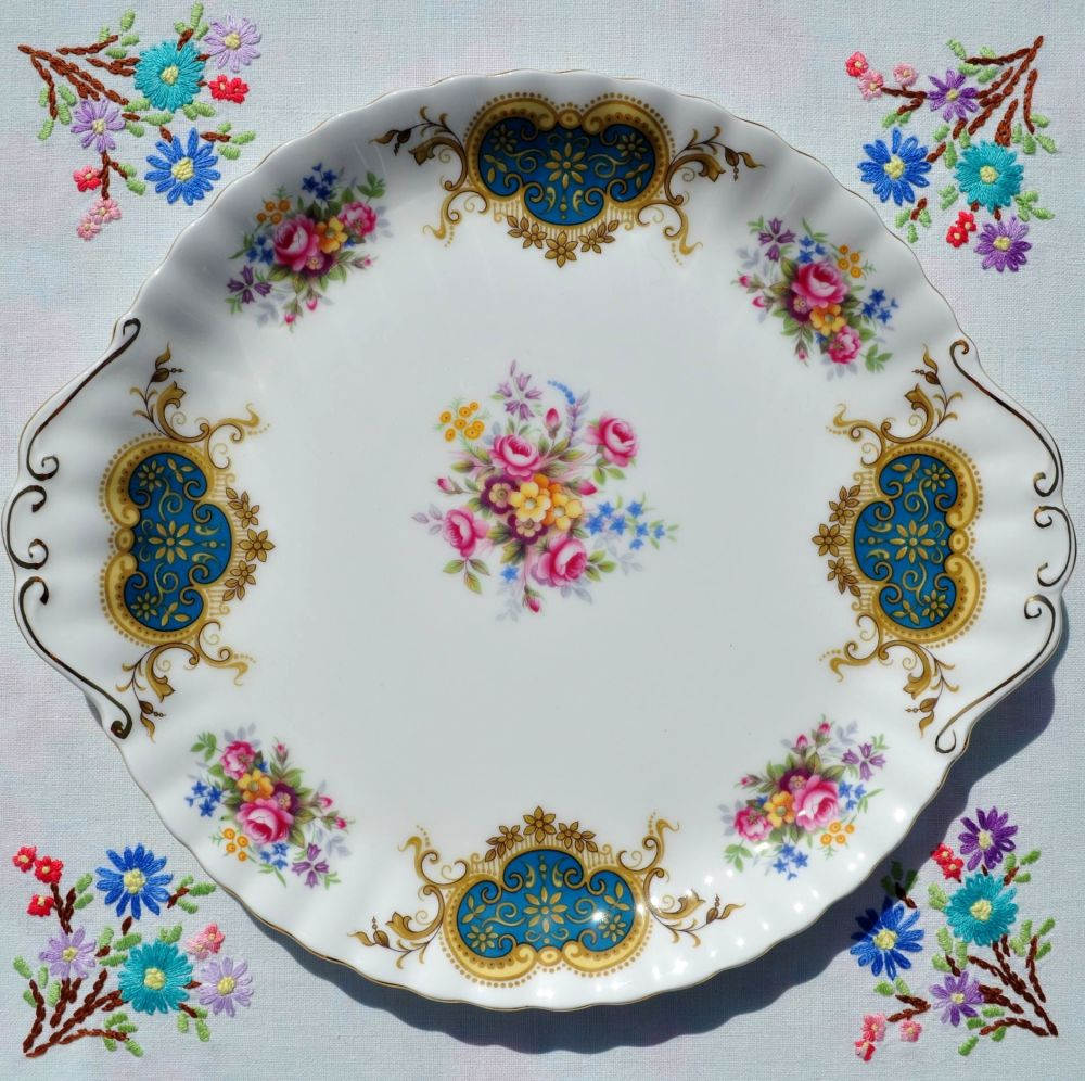 Royal Albert Berkeley Bone China Cake Plate