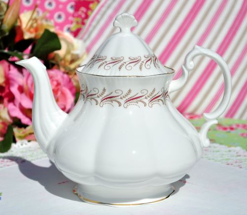 Royal Standard Harmony Vintage China Teapot