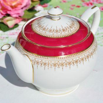 Royal Worcester Regency Fine Bone China Teapot c.1960+