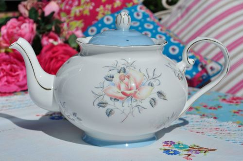 Royal Grafton Mayfair Blush Rose 2 Pint Teapot c.1957+