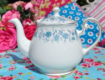 Colclough Braganza Vintage Bone China Teapot