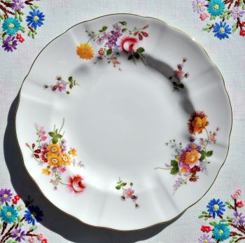 Royal Crown Derby Posies China 8.25 inch Salad Plate