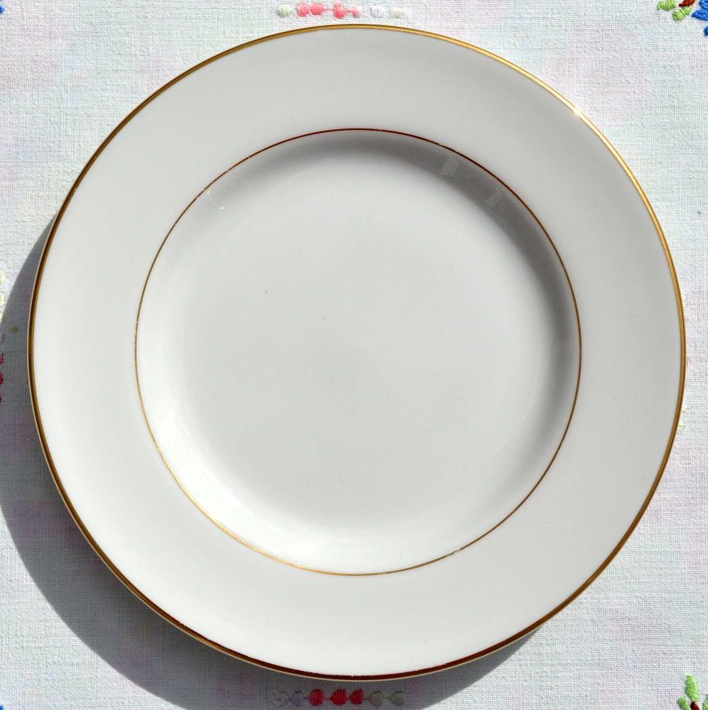 Royal Doulton Warwick Gold Fine China 16.5cm Tea Plate