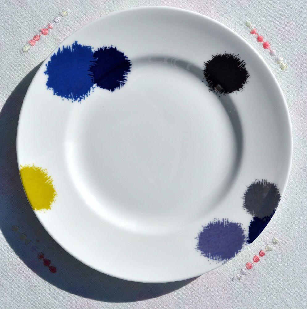 Wedgwood Ikat Designed by Vera Wang 15cm Bone China Tea Plate