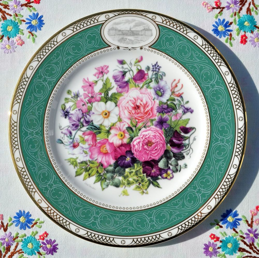 Royal Doulton The Royal Enchanted Gardens Bouquet Plate c.2001