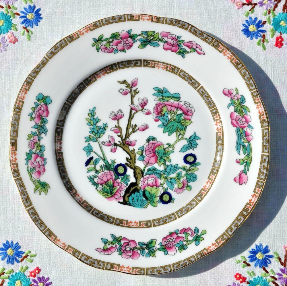 Duchess China Indian Tree Pattern 21cm Plate c.1950s