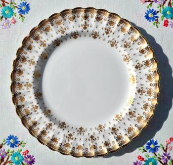 Spode Fleur De Lys Gold Patterned 20cm Plate
