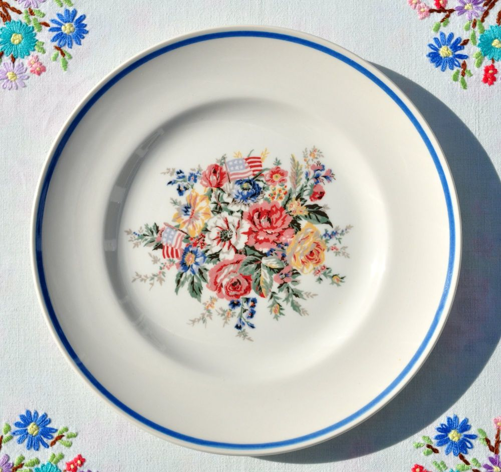 Wedgwood Ralph Lauren Dylan's Grove 20cm Plate