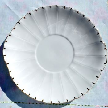 Salisbury Antique White Bone China Cake Plate c.1907