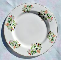 Sheltonian Hedgerow Pattern 19cm Bone China Plate