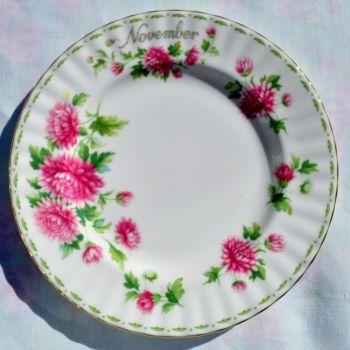 Royal Albert Chrysanthemum - November 20cm Plate