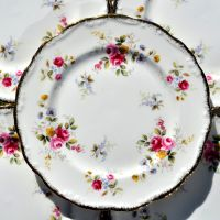 Royal Albert Tenderness Set of Six 18cm Vintage Bone China Plates