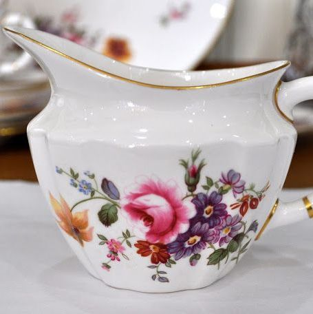 Royal Crown Derby Posies Milk Jug c.1966