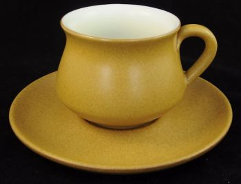 Denby Ode Vintage Teacup and Saucer