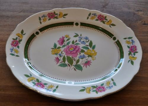 Royal Cauldon 'New Ludlow' Pattern Vintage Serving Platter