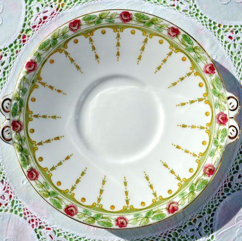 Adderleys Sicily Pattern Vintage Bone China Cake Plate c.1926+