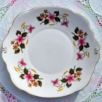 Duchess Windermere Vintage Bone China Cake Plate c.1960s