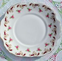 Crown Staffordshire Wentworth Vintage China Cake Plate
