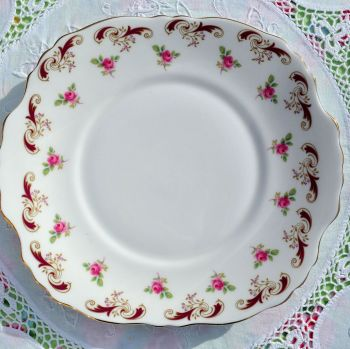 Crown Staffordshire Wentworth Cake Plate c.1950s