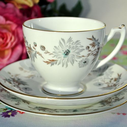 Coalport My Fair Lady Pattern Bone China Teacup Trio