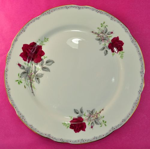 Royal Stafford Roses To Remember 27.5cm Bone China Plate