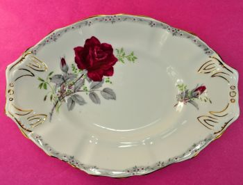 Royal Stafford Roses To Remember Biscuit Tray
