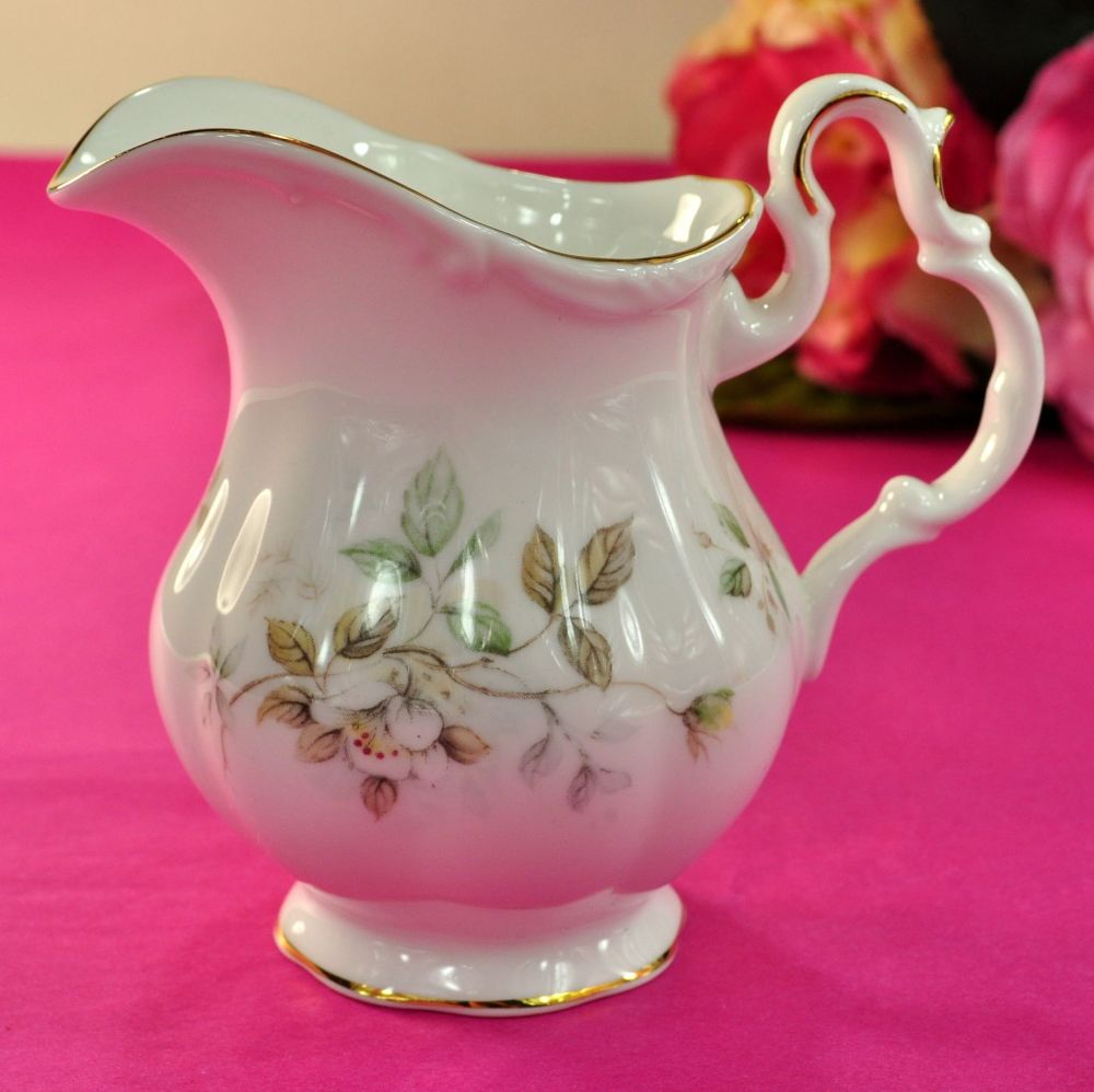 Royal Albert Haworth Vintage Bone China Small Milk Jug